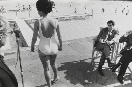 Beauty contest, Southport, Lancashire, 1967.