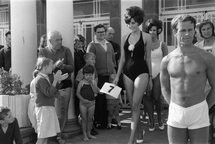 Beauty contest, Margate, Kent, 1967.