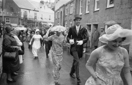 Helston Furry Dance, Cornwall, 1968.