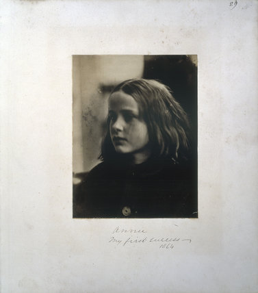 'Annie my first success' by Julia Margaret Cameron, 1864.