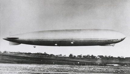 LZ 127 'Graf Zeppelin' airship, 1928-1937.