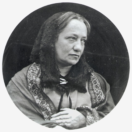 Julia Margaret Cameron, British photographer, c 1860s.