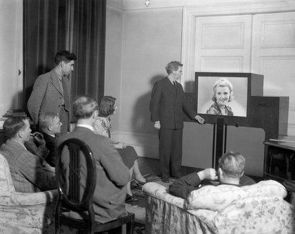 John Logie Baird, Scottish television pioneer, 20 December 1940.
