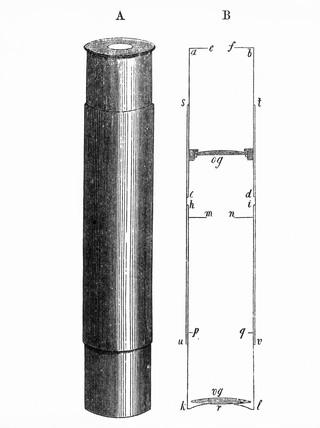 Janssen's microscope, c 1867.