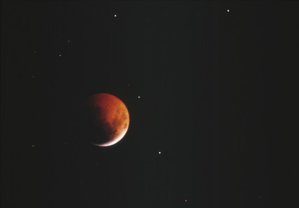 Lunar eclipse, 9 December 1992.