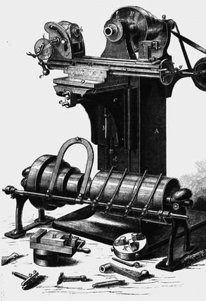 First universal milling machine.