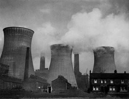 Stuart Street Power Station in Manchester, 31 December 1946.