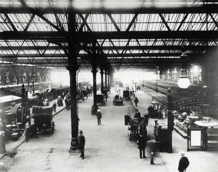 Victoria Station, London, c 1905.