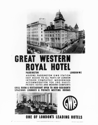Poster of the Great Western Royal Hotel,
