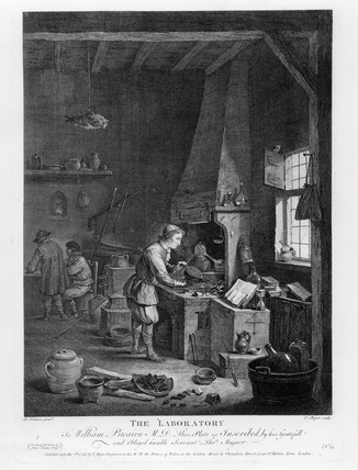'The Laboratory', late 17th century.