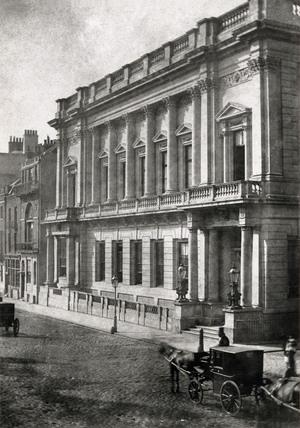 'The Conservative Club', c 1845.