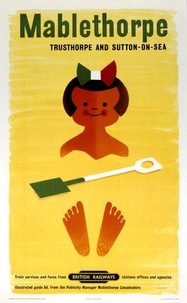 'Mablethorpe', BR poster, 1960.