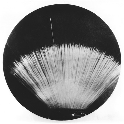 Long range alpha-particle, early 20th century.