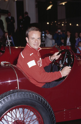 Rubens Barrichello, Brazilian racing driver, 22 February 2002.
