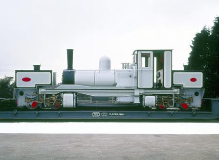 Tasmanian Railways 0-4-0 Garrett locomotive