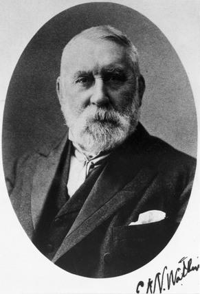 Sir Edward Watkin, c 1880s.