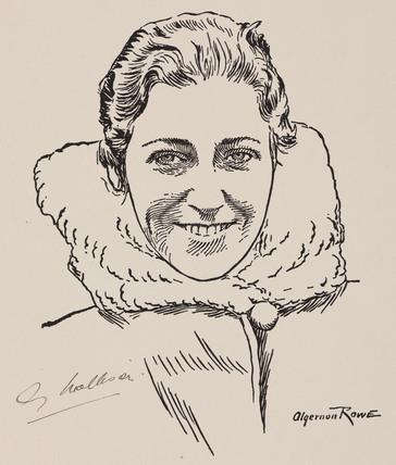 Amy Mollison (nee Johnson), British aviator, 1932-1938.