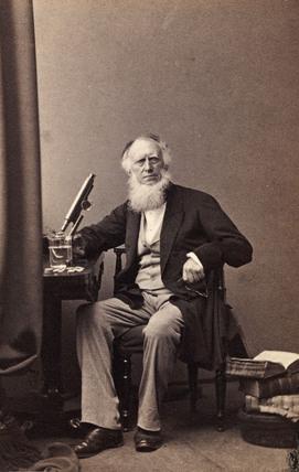 Robert Kaye Greville, botanist, c 1863.