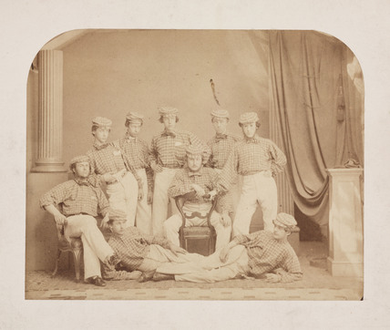 Group of performers, late 19th century.