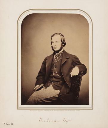 W Archer, 1854-1859.