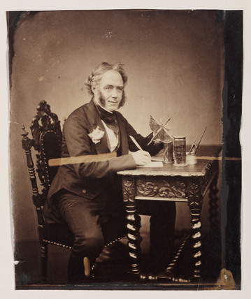 John Obadiah Westwood, English entomologist and paleographer, c 1850.