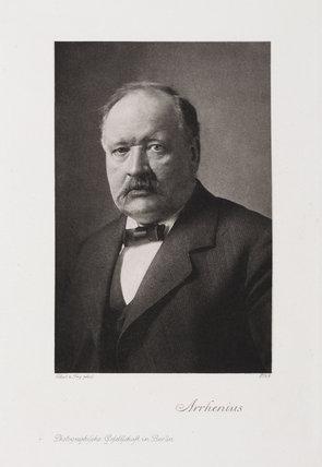 Svante Arrhenius, Swedish physical chemist, c 1910.