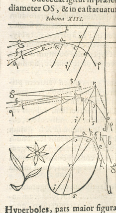 Diagram on integral calculus, 1615.