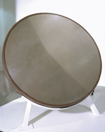 Original mirror for William Herschel's 40 foot telescope, 1785.