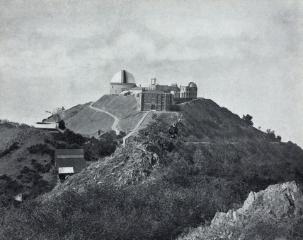 Summer view of the Lick Observatory, California, USA, 1915.