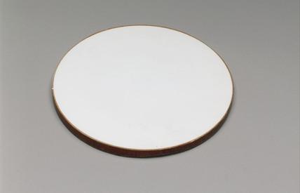Sir William Herschel's white enamel glass mirror, 1780-1800.