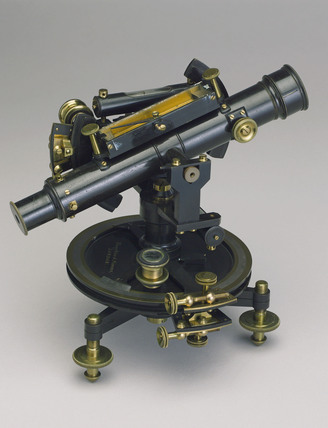 Four inch Everest theodolite, c 1851-1900.