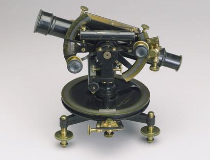 Four inch Everest theodolite, c 1851-1900.