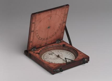 Azimuth compass sundial, 1731-1776.
