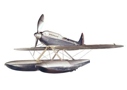 Supermarine Rolls-Royce S6B seaplane, 1931.