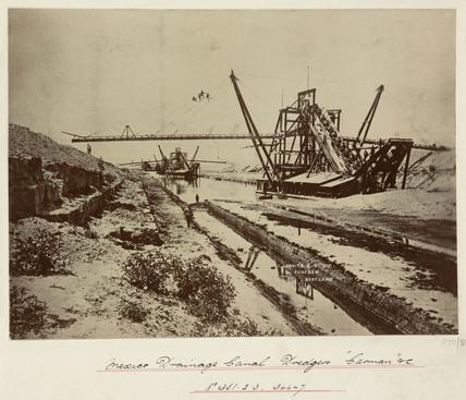 Drainage canal dredger, 'Carmen', Mexico, c 1892-1919.