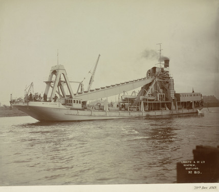 The dredger 'The Chief', Mexico, 29 December 1919.