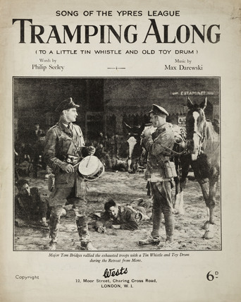'Tramping Along', song of the Ypres League, 1926.