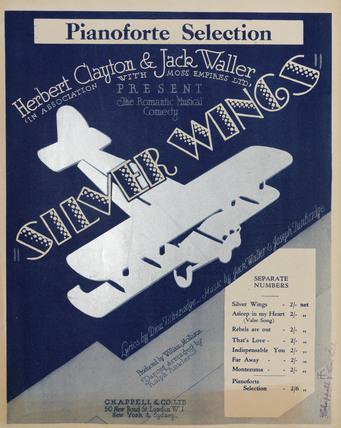 'Silver Wings', 1930.