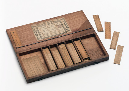 Set of Napier's rods, 1770-1790.