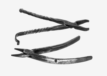 Dental forceps, 1601-1910.