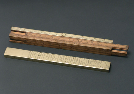 Ullage slide rule, 1759-1776.