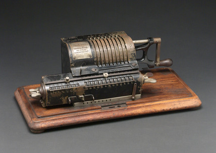 Odhner-type calculating machine, 1910-1920.