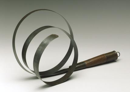 Spring steel slave whip, 1801-1900.
