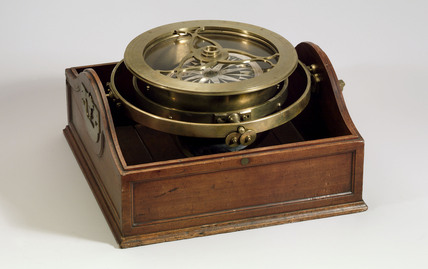 Mariner's compass, c 1700s.