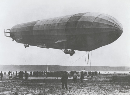 Zeppelin LZ 10 'Schwaben' airship, the first successful Zeppelin, c 1911.