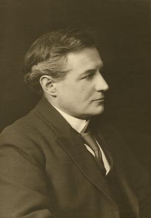 Dr Oswald John Silberrad, English chemist, 1922.