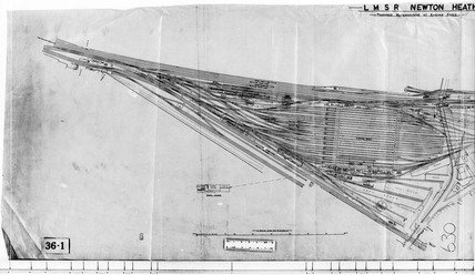 Track plan 23108, Newton Heath, Greater Manchester, c 1930.