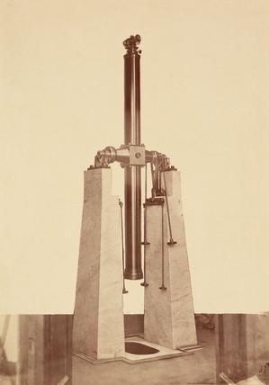 Zenith telescope, Rome, Italy, 1876.