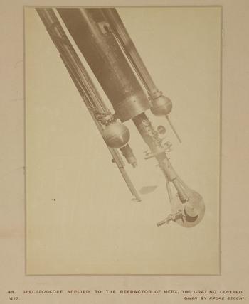 Spectroscope, Rome, Italy, 1876.