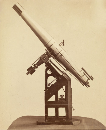 Model of the 27 inch telescope of the Imperial Observatory, Vienna, 1876.